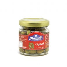 Masiello Capers In Wine Vinegar 106ml image