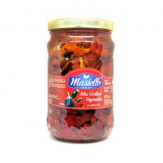Masiello Mixed Grilled Vegetables In Oil 1700ml image